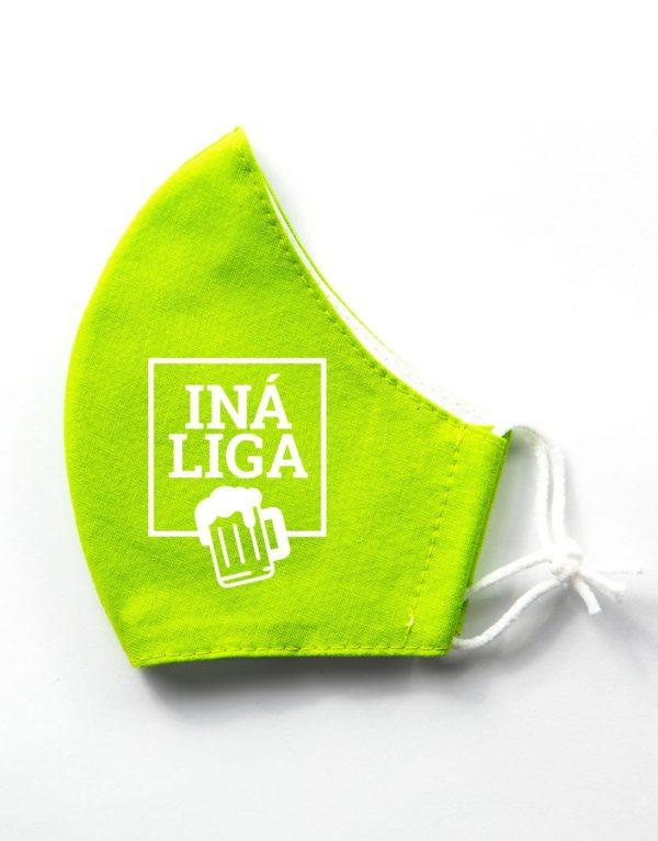 Bavlnené rúško Iná Liga | Pivo edition 1