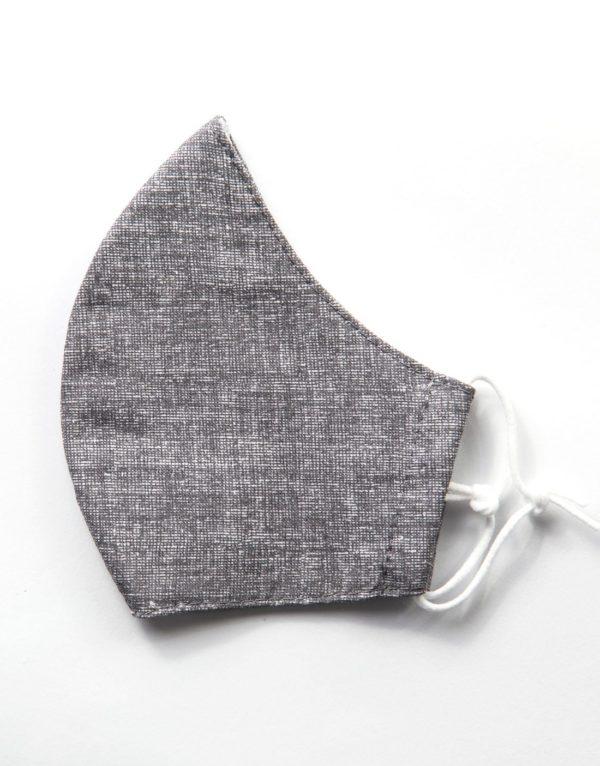 Bavlnené rúško Grey 2