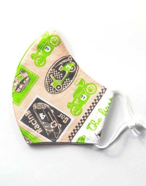 Bavlnené rúško Moto 1