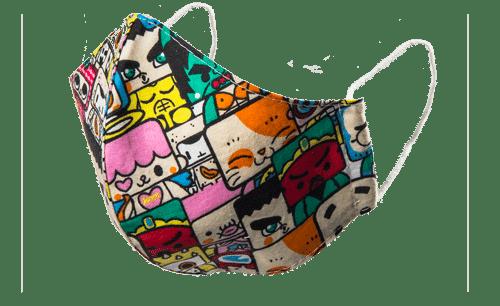 Bavlnené rúška | Nákrčníky | Baggy 9