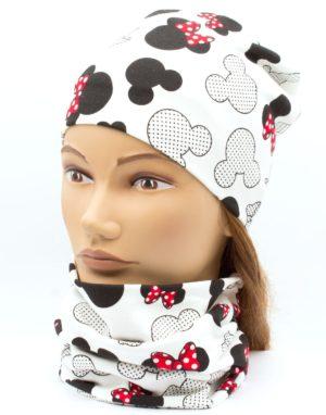 Nákrčník s čiapkou Mickey minnie