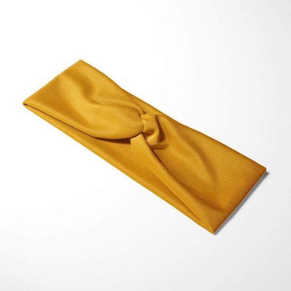 Bavlnená čelenka Mustard 4