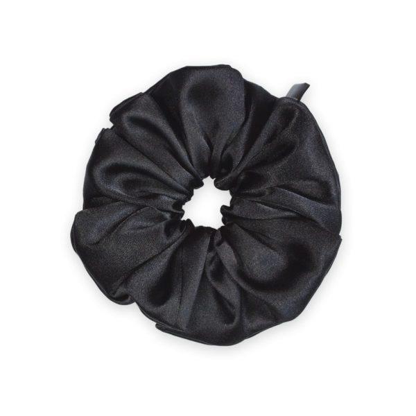 Black Classic Scrunchie 1