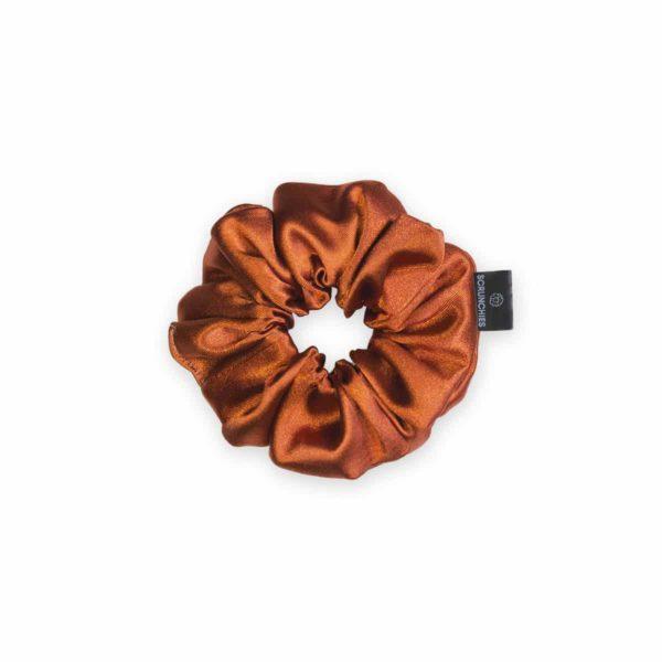 Copper Mini Scrunchie 1