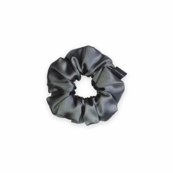 Graphite Mini Scrunchie 1