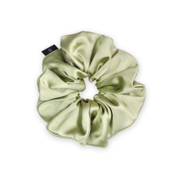 Lime Classic Scrunchie 1