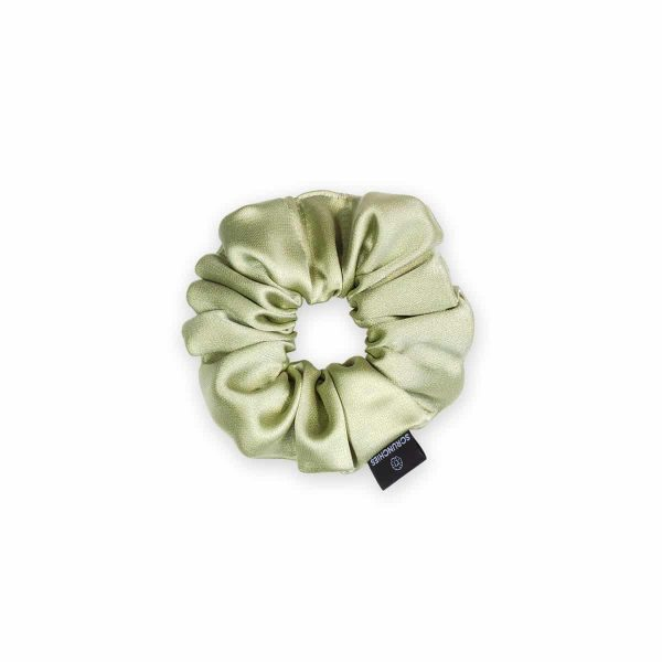 Lime Mini Scrunchie 1