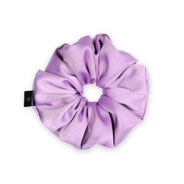 Violet Classic Scrunchie 1