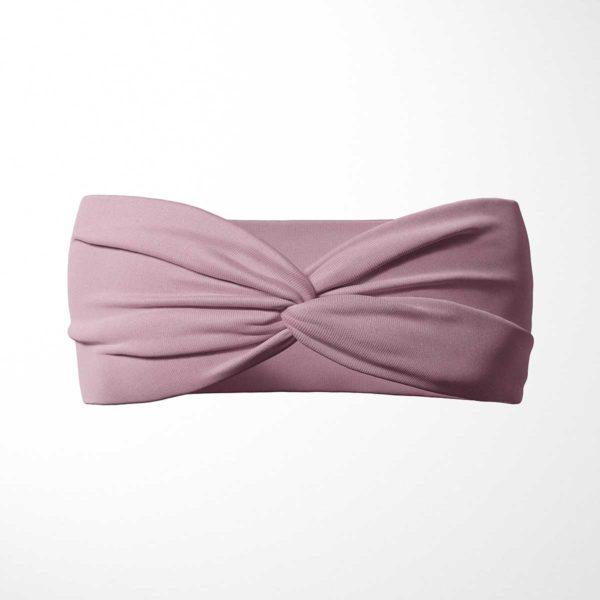 Bavlnená čelenka Ružová 1