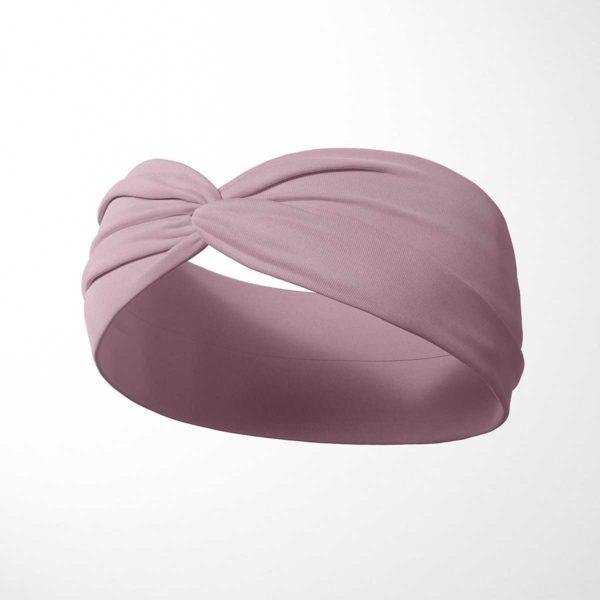 Bavlnená čelenka Ružová 2