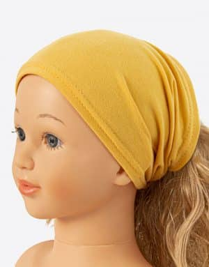 Bavlnená šatka žltá