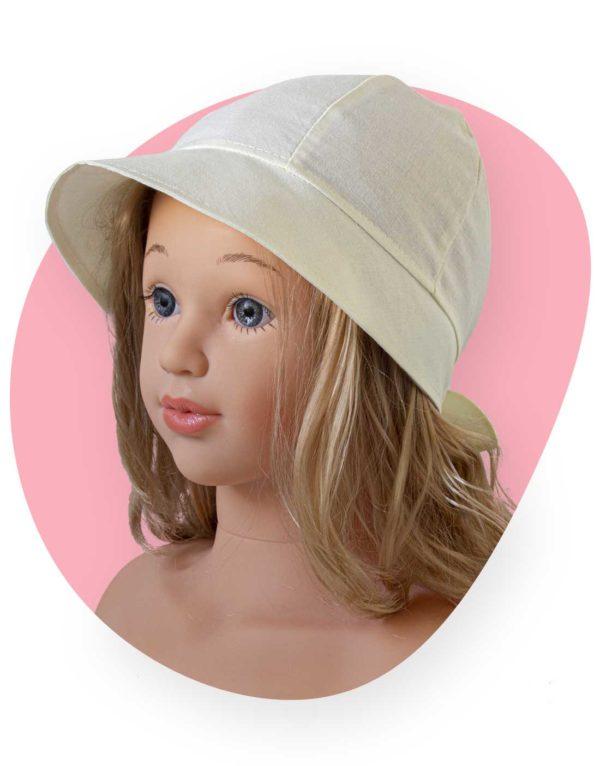 bavlneny klobuk lady crema