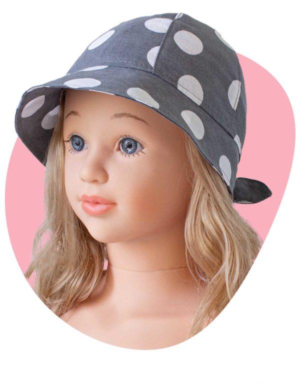 bavlneny klobuk lady bodka