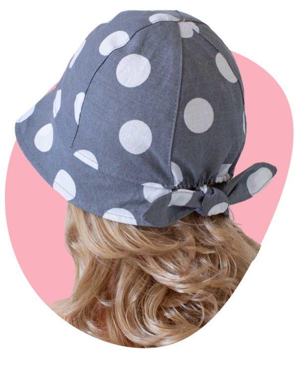 Bavlnený klobúk Lady Bodka 1